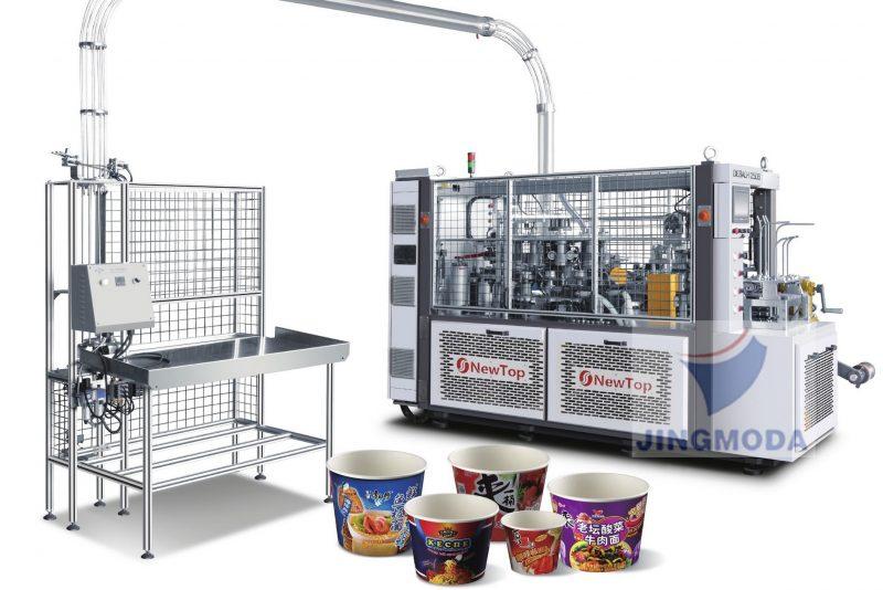 Станок для производства высоких бумажных ведер и стаканов