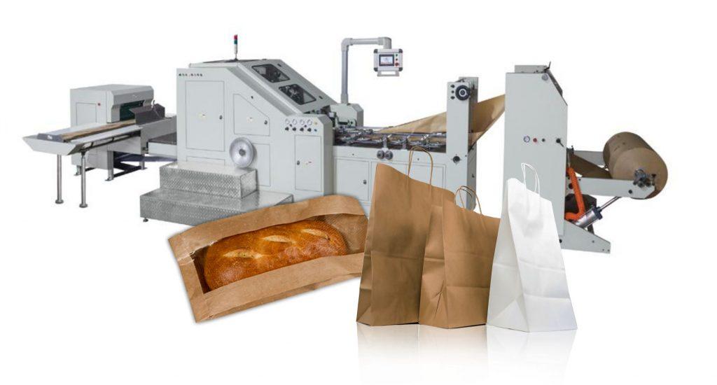 Станки для бумажных пакетов