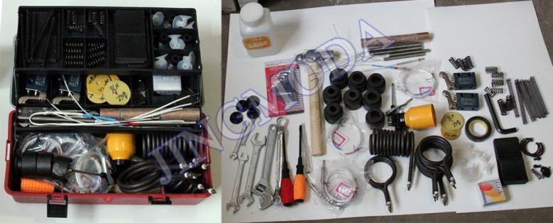 Инструменты и запасные части к станку
