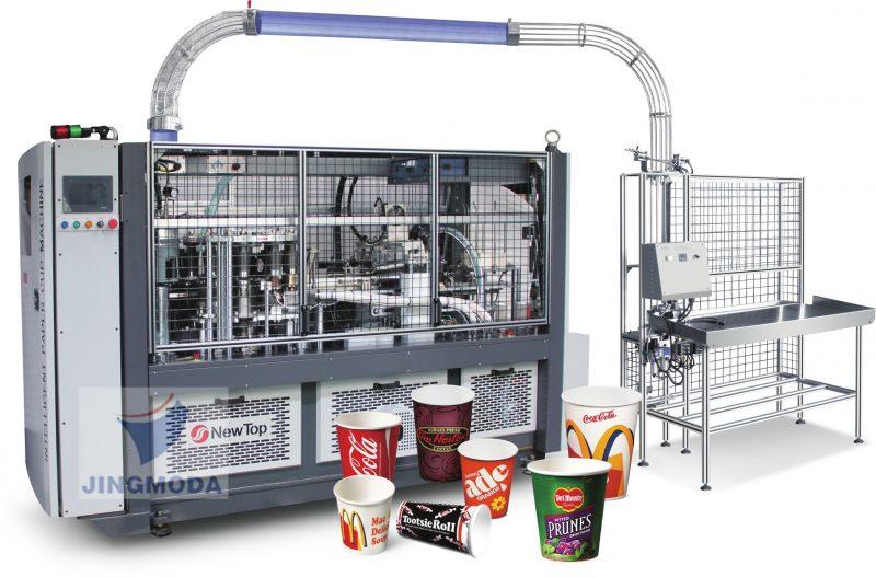 Скоростной станок для производства бумажных стаканчиков