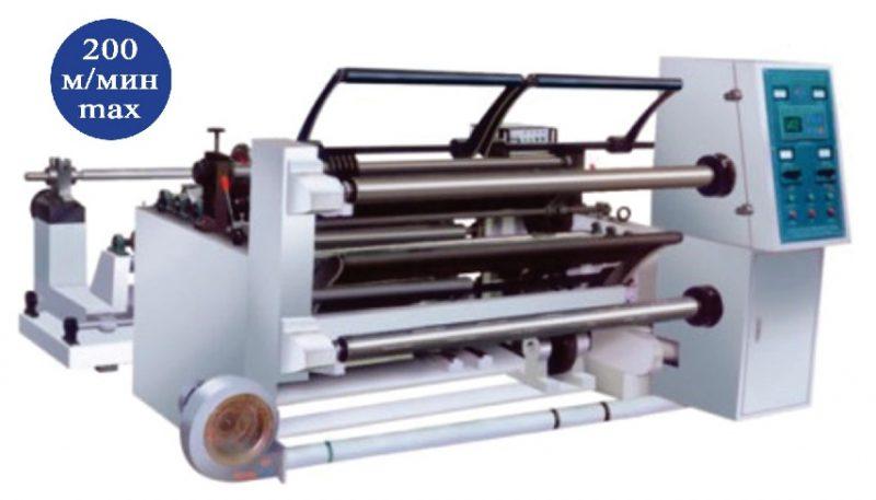 машина продольной резки рулонной плёнки