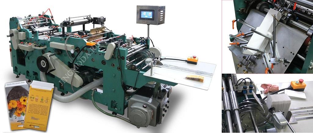 Запуск оборудования для производства бумажных конвертов