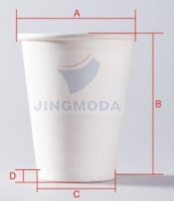 размеры бумажные стаканчики