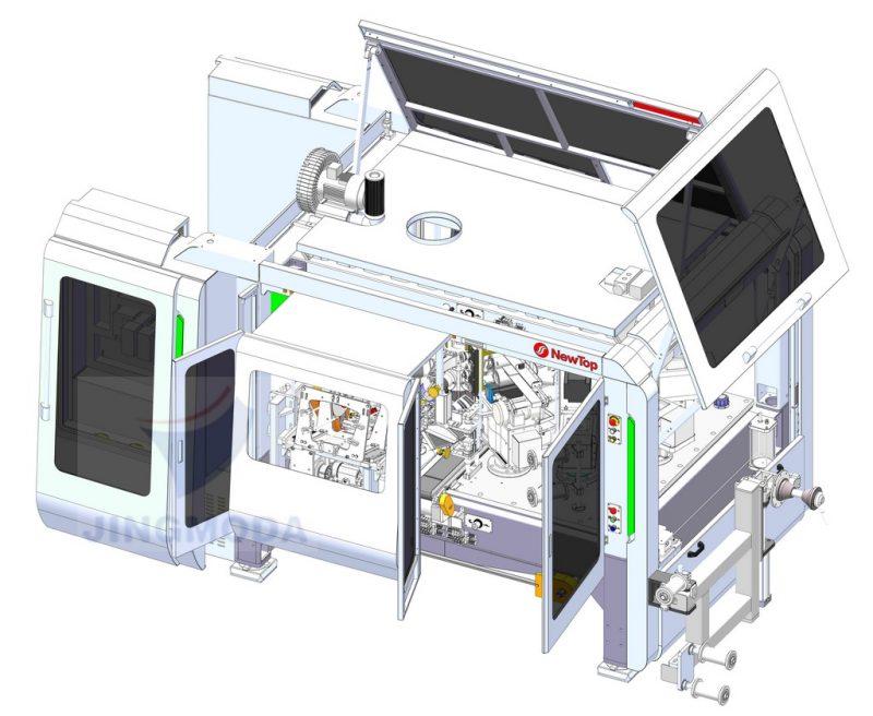 высокоскоростное оборудование для производства бумажных стаканчиков