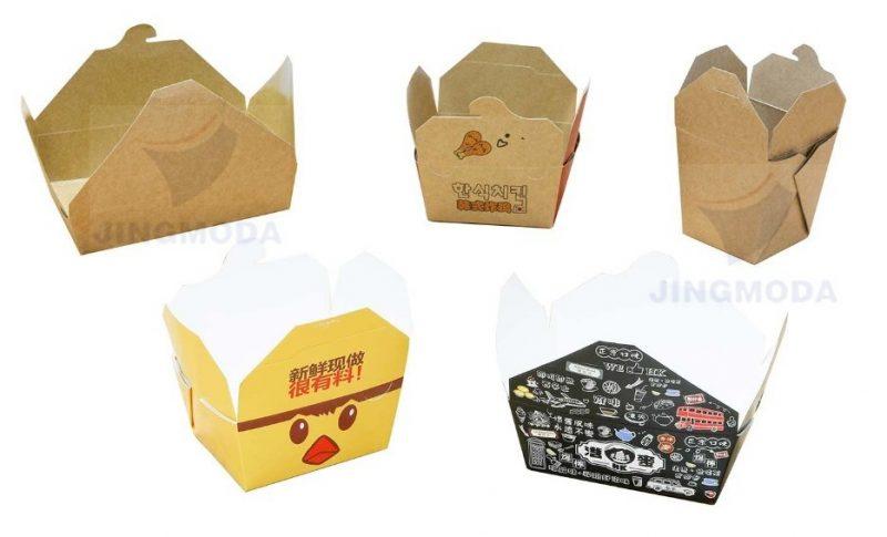 образцы продукции оборудования для производства коробок