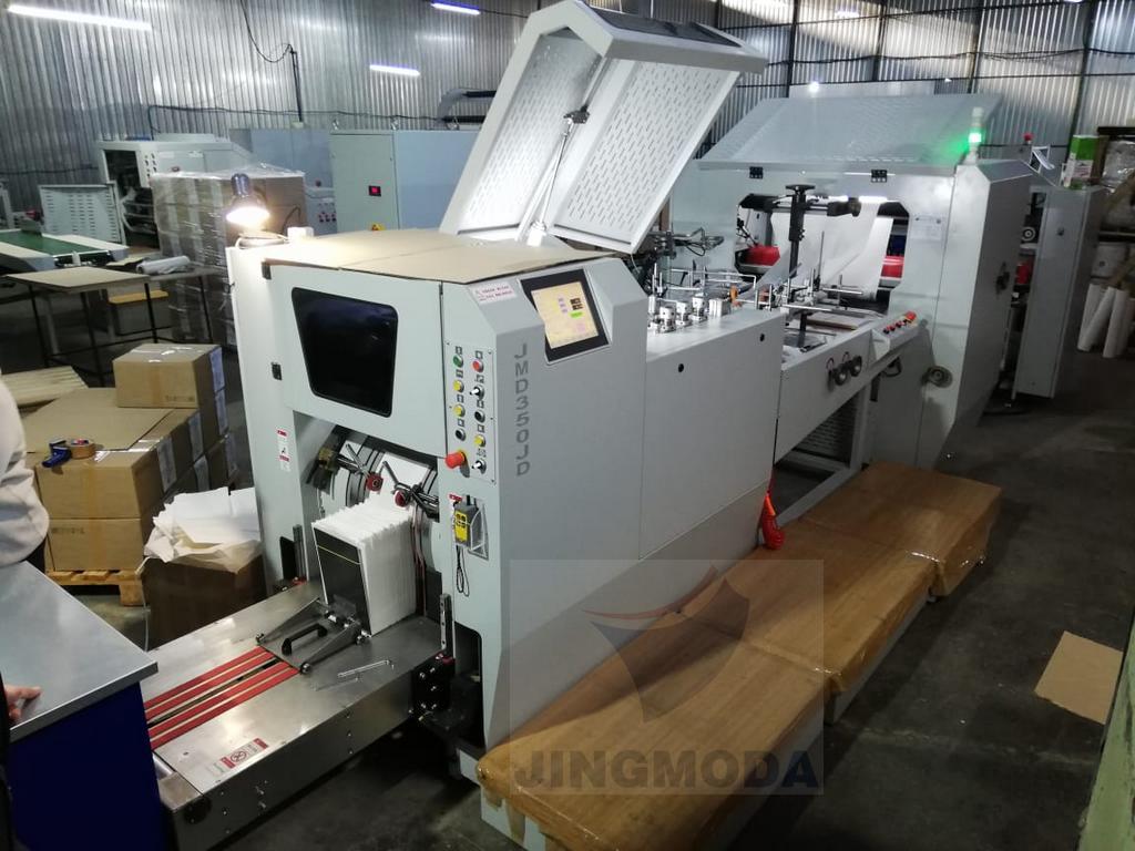 машины для производства бумажных пакетов с окном