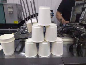 двухслойные бумажные стаканчики