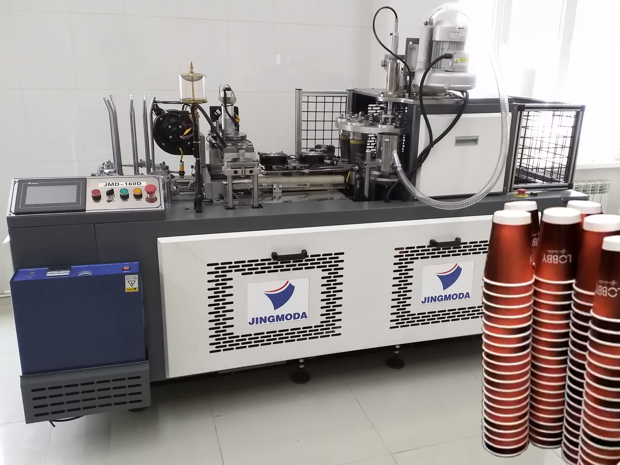 оборудование для производства бумажных стаканчиков - запуск в Махачкале