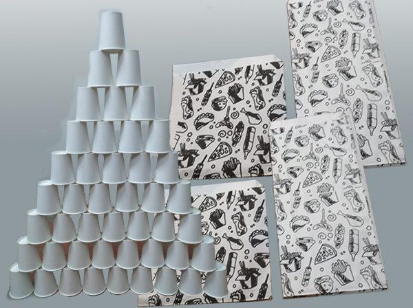машины для производства бумажных стаканчиков и бумажных пакетов